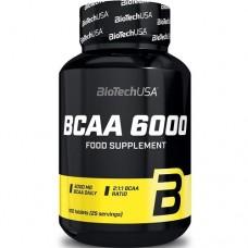 BIOTECH USA BCAA 6000 - 100 tabs