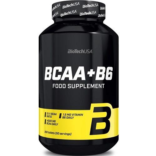 BIOTECH USA BCAA+B6 - 200 tabs Amino Acids