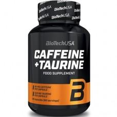BIOTECH USA CAFFEINE + TAURINE - 60 caps