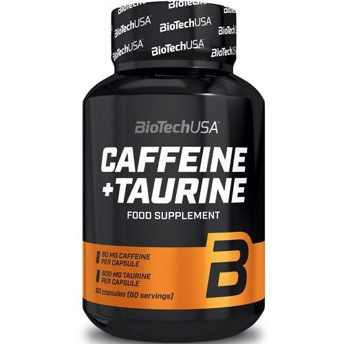 BIOTECH USA CAFFEINE + TAURINE - 60 caps Energy