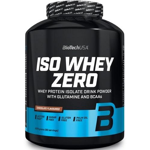 BIOTECH USA ISO WHEY ZERO - 2270g + BIOTECH USA FREE SHAKER Protein Powder