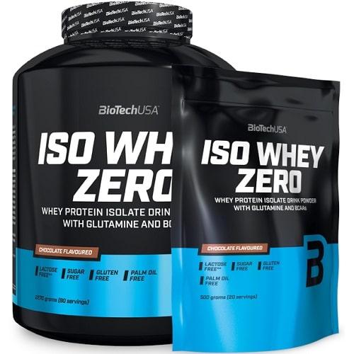 BIOTECH USA ISO WHEY ZERO - 2270g + ISO WHEY ZERO 20 servings Random Flavours! Protein Powder