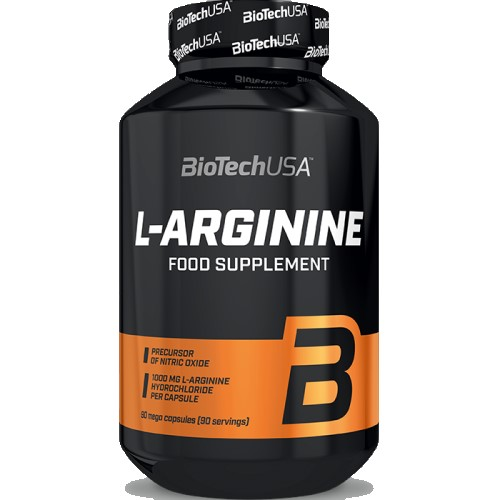 BIOTECH USA L-ARGININE - 90 caps Amino Acids