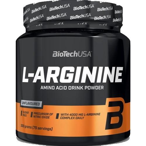 BIOTECH USA L-ARGININE POWDER - 300 g unflavoured Amino Acids