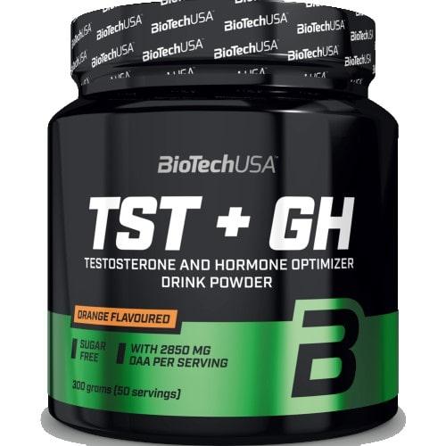 BIOTECH USA TST + GH - 300 g Hormone Support