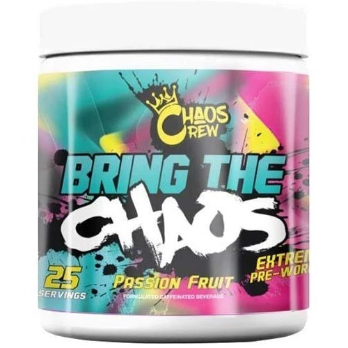 CHAOS CREW BRING THE CHAOS - 25 servings Pre Workout