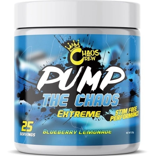 CHAOS CREW PUMP THE CHAOS - 325 g Pre Workout