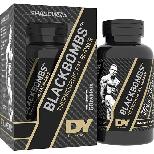 DORIAN YATES BLACK BOMBS - 60 tabs Weight Loss Support