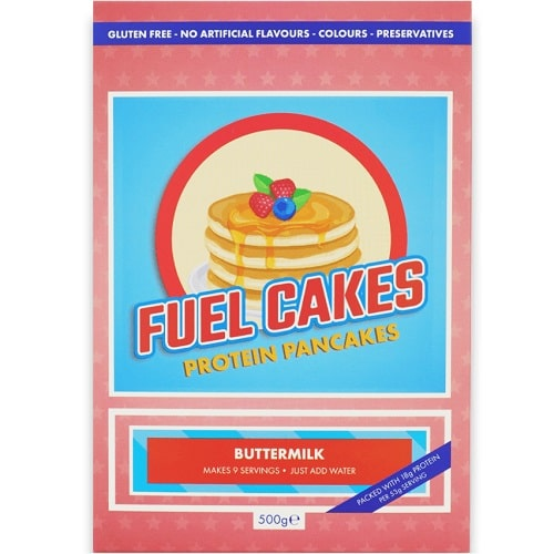 FUEL CAKES PROTEIN PANCAKES - 500 g Healthy Snacks