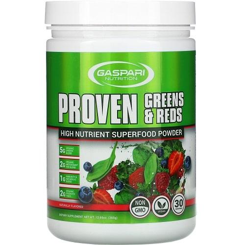 GASPARI NUTRITION PROVEN GREENS & REDS - 360 g natural Vitamins & Minerals
