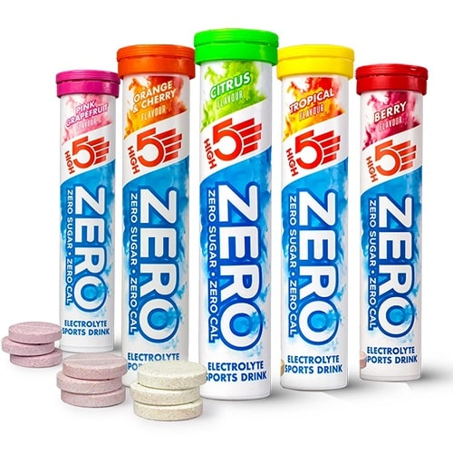 HIGH5 SPORTS NUTRITION ELECTROLYTE ZERO - 20 tabs Hydration & Isotonic