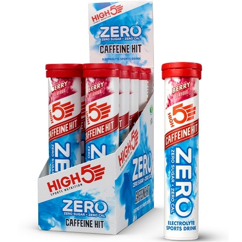 HIGH5 SPORTS NUTRITION ELECTROLYTE ZERO CAFFEINE HIT - 20 tabs Hydration & Isotonic