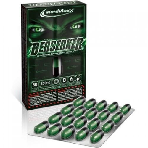 IRONMAXX BERSERKER - 60 caps Pre Workout