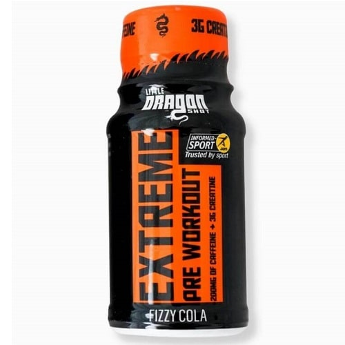 LITTLE DRAGON EXTREME PRE WORKOUT - 60 ml (Pack of 12) Nitric Oxide Booster