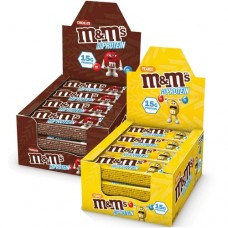 M&M's HI PROTEIN BAR - 51g (box of 12)
