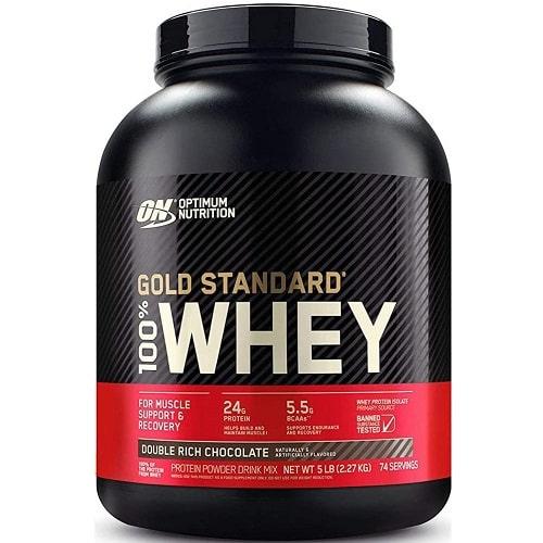 OPTIMUM NUTRITION GOLD STANDARD 100% WHEY - 2270g Protein Powder
