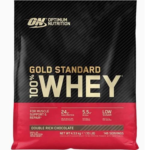 OPTIMUM NUTRITION GOLD STANDARD 100% WHEY - 4540g Protein Powder