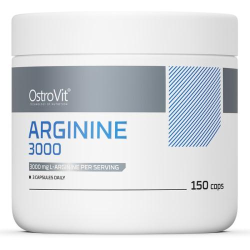 OSTROVIT ARGININE 1000 - 150 caps Nitric Oxide Booster