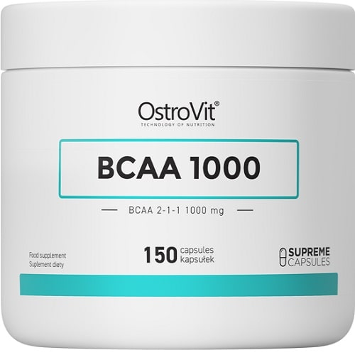 OSTROVIT BCAA 1000 - 150 caps BCAA Supplements