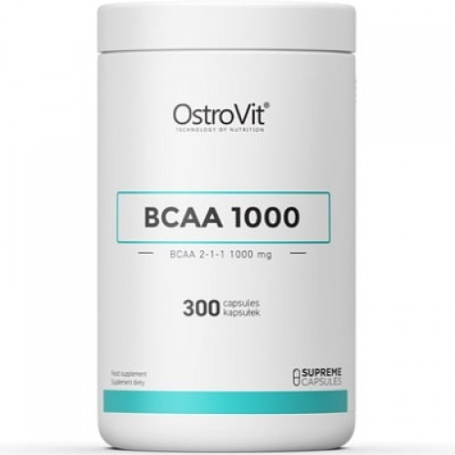OSTROVIT BCAA 1000 - 300 caps BCAA Supplements
