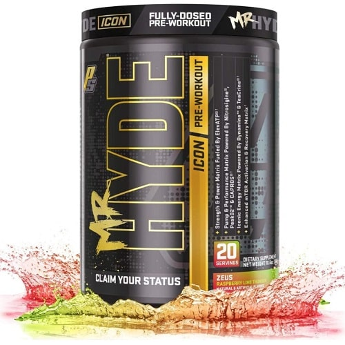 PRO SUPPS MR HYDE ICON - 20 servings Pre Workout