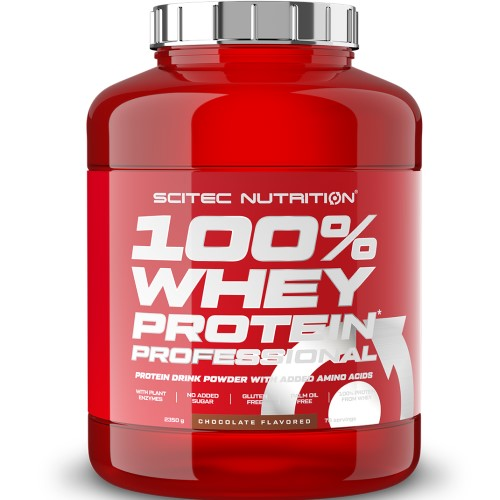 SCITEC NUTRITION 100% WHEY PROTEIN PROFESSIONAL - 2350 g + SCITEC SHAKER