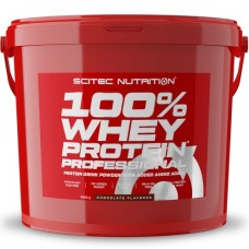 SCITEC NUTRITION 100% WHEY PROTEIN PROFESSIONAL - 5000g + FREE SHAKER