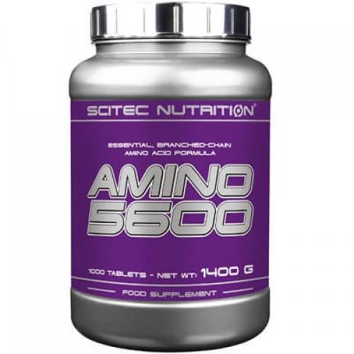 SCITEC NUTRITION AMINO 5600 - 1000 tabs Amino Acids