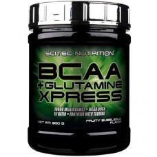 SCITEC NUTRITION BCAA + GLUTAMINE XPRESS - 300 g *BEST BEFORE END 10/2021*