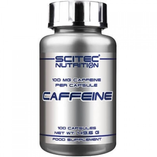 SCITEC NUTRITION CAFFEINE - 100 caps Weight Loss Support