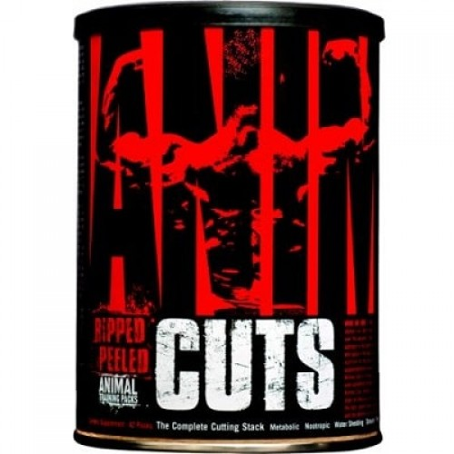 UNIVERSAL NUTRITION ANIMAL CUTS - 42 packs - Lowest Price
