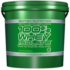 SCITEC NUTRITION 100% WHEY ISOLATE - 4000 g + FREE SHAKER