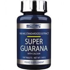 SCITEC NUTRITION SUPER GUARANA - 100 tabs